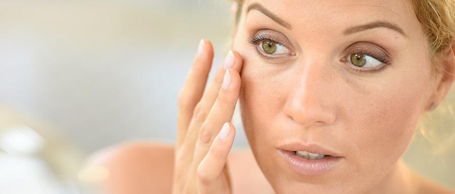 female patient considering facial rejuvenation