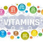 concept art of various vitamin types
